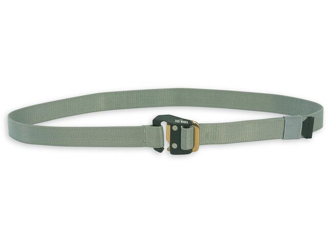 Tatonka Stretch Cinturón 25mm, warm grey